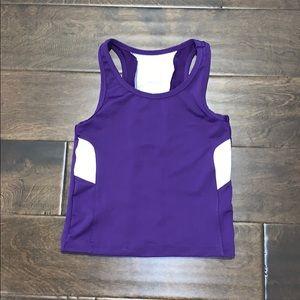 NWOT Augusta Sportswear Purple wicking tank 💜